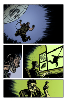 Hand of Glory pg 1 Comic Art