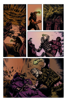 Hand of Glory pg 4 Comic Art