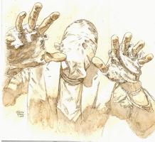 Scarecrow study Comic Art