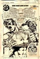 Green Lantern / Green Arrow Comic Art
