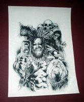 Lobo - Biz!, Comic Art