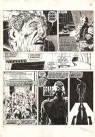 Brian Bolland - Judge Dredd - Punks Rule - 2000AD Prog 110, Comic Art