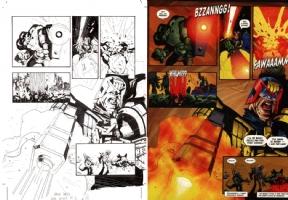 Jock - Judge Dredd Megazine - Dredd Splash May 2000, Comic Art