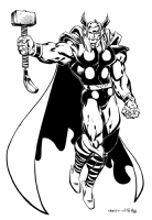Thor by Bart Sears Comic Art