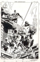 Joe Quesada, Jimmy Palmiotti - Wizard Marvel Knights Sketchbook Cover Comic Art