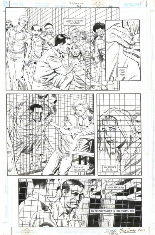 Steve Lieber, MIck Gray - Detective Comics #767, pg.22 Comic Art