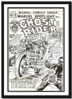 Marvel Spotlight #10 (Ghost Rider) - Herb Trimpe Comic Art