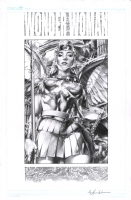 Jay Anacleto - Kingdom Come Armored Wonder Woman - NYCC 2013 Commission Comic Art