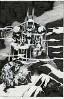 Kelley Jones Detective Comics #31 cover  Comic Art