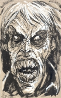 EVIL DEAD II Soul Swallower, Comic Art