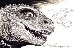 Teen Gojira!, Comic Art