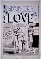 MODERN LOVE #1 Comic Art
