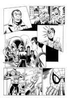 Spidey vs Goblin 1 Comic Art