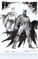 World's Finest by Rafael Albuquerque, Comic Art