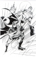 World's Finest by J. Scott Campbell, Comic Art