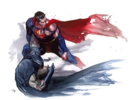 World's Finest by Gabrielle Dell'Otto, Comic Art