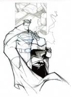World's Finest by Francisco Herrera Comic Art