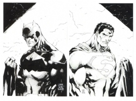 World's Finest by Jim Lee, Comic Art