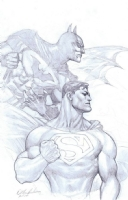 World's Finest by Doug Mahnke, Comic Art