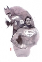 World's Finest by Alex Maleev, Comic Art