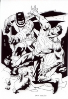The Dark Knight Falls  by Kevin Nowlan Comic Art