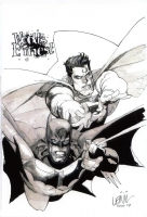 World's Finest by Leinil Yu, Comic Art