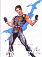 Power Boy by Joe Philips Comic Art