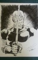 Deathstroke - Steve Erwin - Slade Wilson Comic Art
