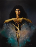 Boris Vallejo - Arachne - Interior from Ladies by Boris Vallejo Comic Art