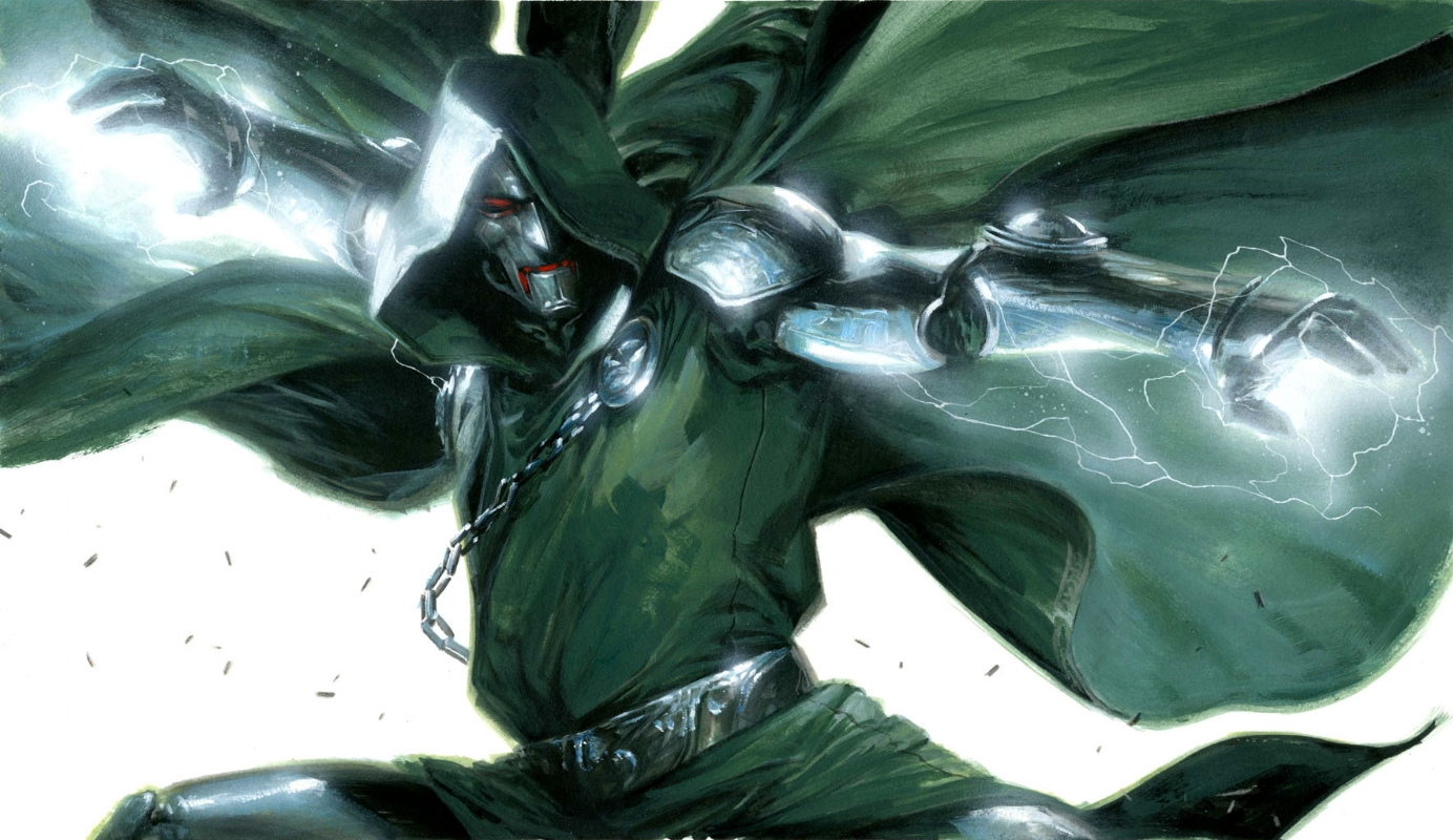 dr doom by Gabriele Dell'otto Comic Art