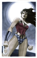 Lynne Yoshii - Wonder Woman, Comic Art