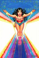 Nick Cardy - Wonder Woman Pin-Up, Comic Art