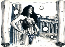 Joe Jusko - Wonder Woman, Comic Art