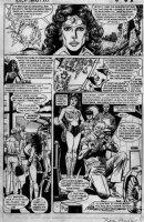 Wonder Woman Annual page Comic Art