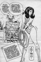 Alex Toth - Wonder Woman Comic Art