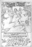 Wonder Woman - Curt Swan - Page 1 Comic Art