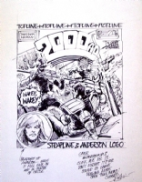 2000AD: Prog 423 Cover Rough Comic Art