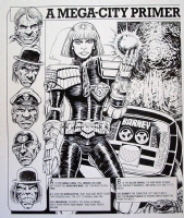A Mega City Primer: Part 1 Comic Art