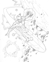 Silver Surfer - Ron Lim Comic Art