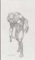 Bernie Wrightson - Werewolf Comic Art