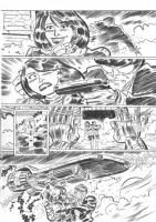 Jersey Gods #5 page 16, Comic Art
