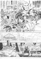 Jersey Gods #5 page 25, Comic Art