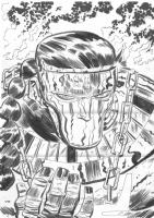 Jersey Gods #5 page 26, Comic Art
