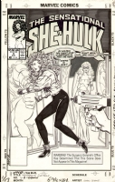 John Byrne : Sensational She-Hulk - Issue 4, Cover, Comic Art