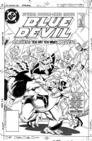 Blue Devil 30 Comic Art