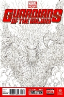 Groot (Guardians of the Galaxy) Comic Art