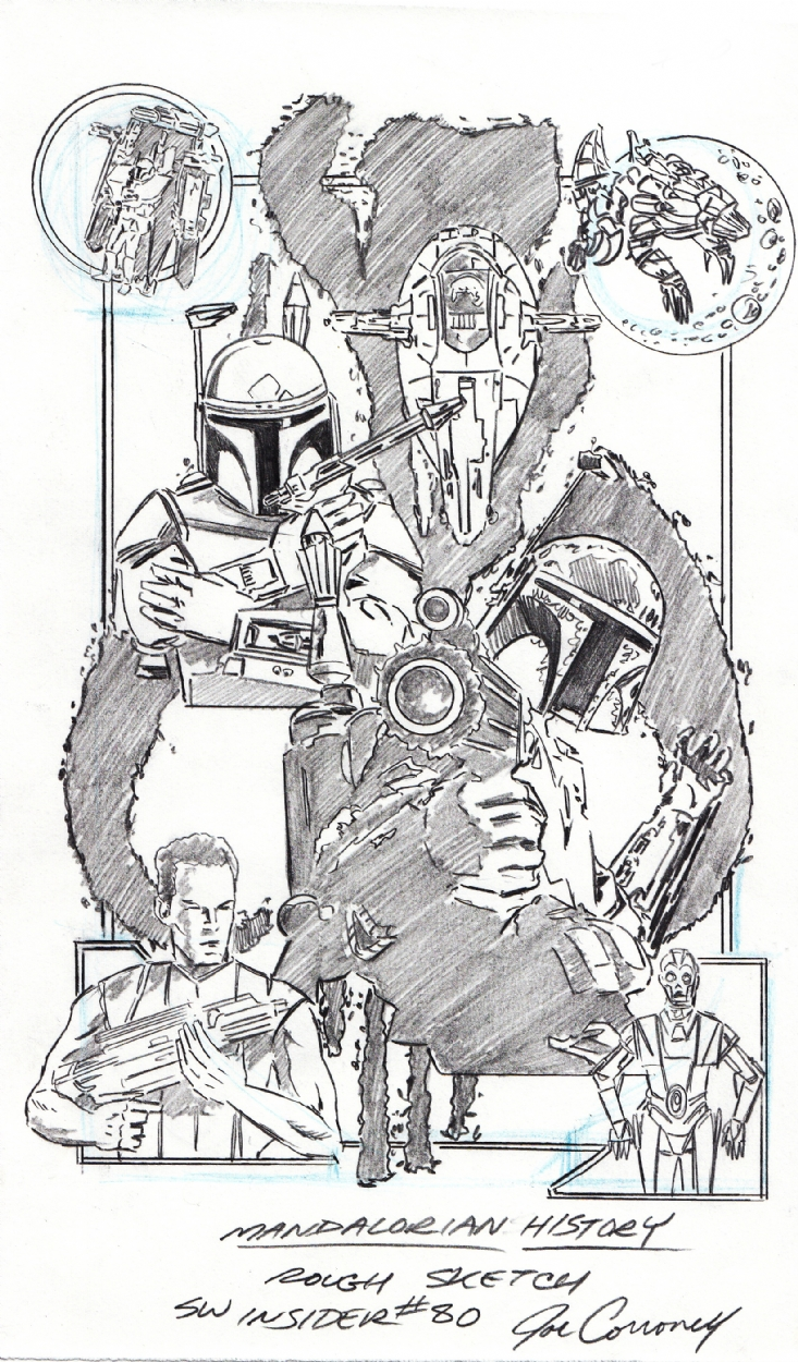 Joe Corroney - Mandalorian History, in Ed Hawkins's Star Wars Art ...