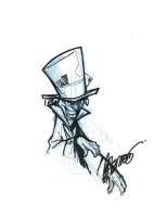 Mad Hatter by Francisco Herrera Comic Art