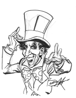 Mad Hatter by Neal Adams Comic Art