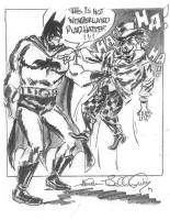 Batman and the Mad Hatter by Allen Bellman Comic Art